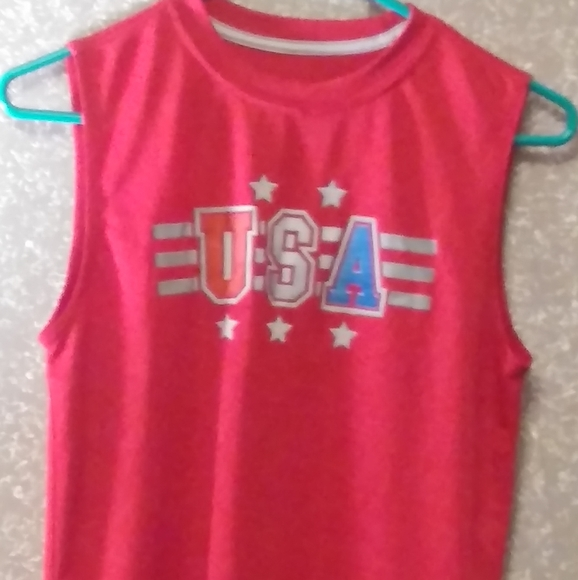 unknown Other - U.S.A. graphic Dri-fit Tank Youth 14-16